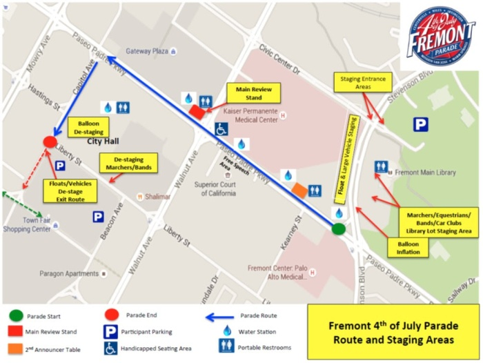 Fremont Parade Route